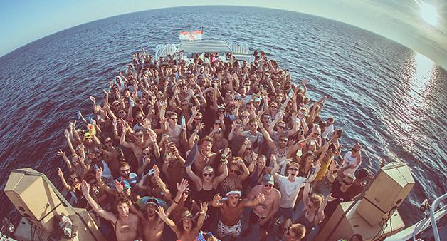 Outlook Festival boat parties